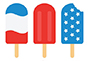 4th of July popsicle image